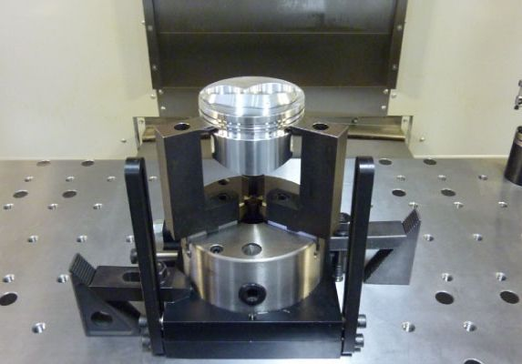 machined piston